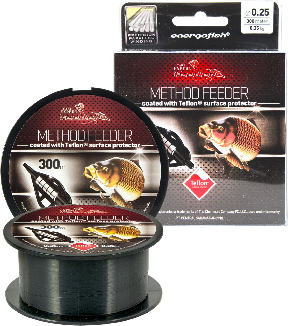 Energofish Carp Expert Method Feeder Teflon